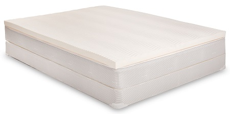 eLuxurySupply 100% Latex Mattress Topper