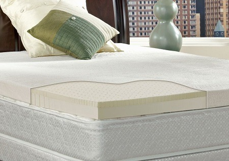 natural mattress topper